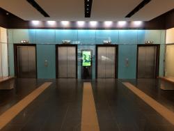 Ground Floor Lobby and Lift Access