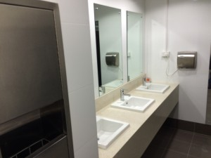 toilets have been refreshed
