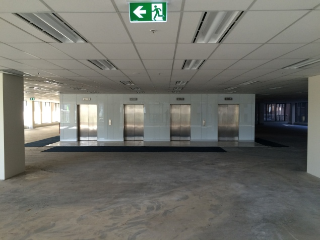 Lift access from inside the tenancy on L3