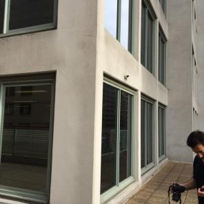 Microwave link might me mounted on verandah edge